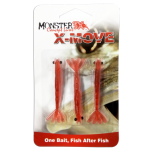 Isca Soft Monster 3X - X-Move 9cm Premium Red