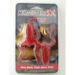 Isca Soft Monster 3X - X-Frog Ultra Red