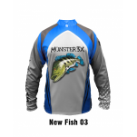 Camisa M3X New Fish 03 GG